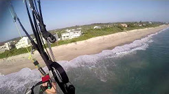 Flying at the beach! Sebastian FL