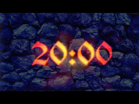 20 Minutes countdown timer (With Ambient, Relaxing music)