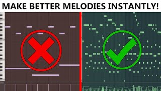 3 Different Ways T๐ Make Melodies (No Music Theory Knowledge)