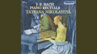 Das Wohltemperierte Klavier I Fugue in D minor BWV 851