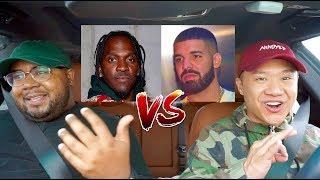 Drake Vs. Pusha T - Homie Car Discussion