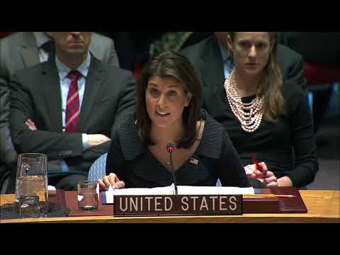 UN Security Council Meeting on the Middle East