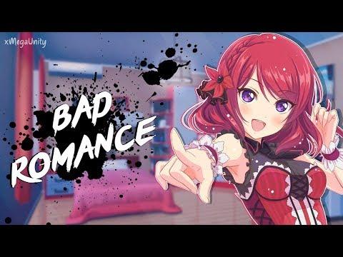 Nightcore  Bad Romance Rock Version  Lyrics