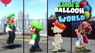 Super Mario Odyssey: All Of Luigi