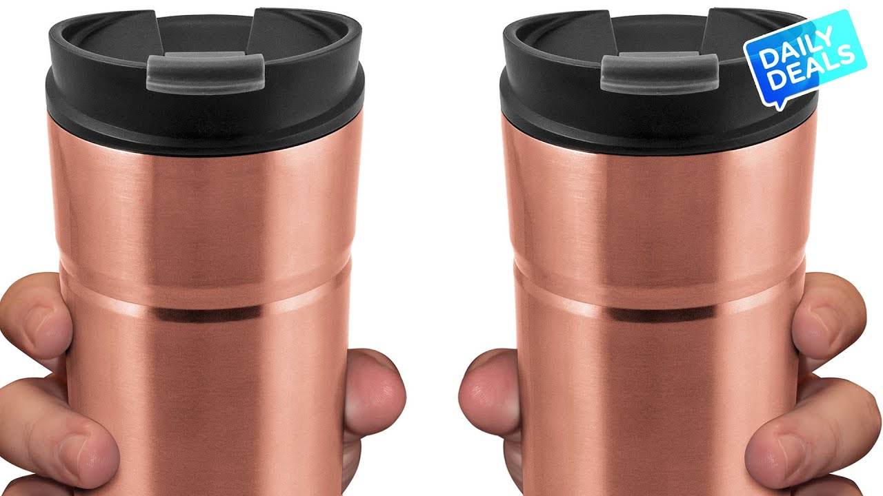 Leak Proof Travel Mug For Hot Coffee Drinks Iced Coffee