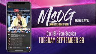 MSOG Online Revival - Night 131 - Tuesday, September 29, 2020
