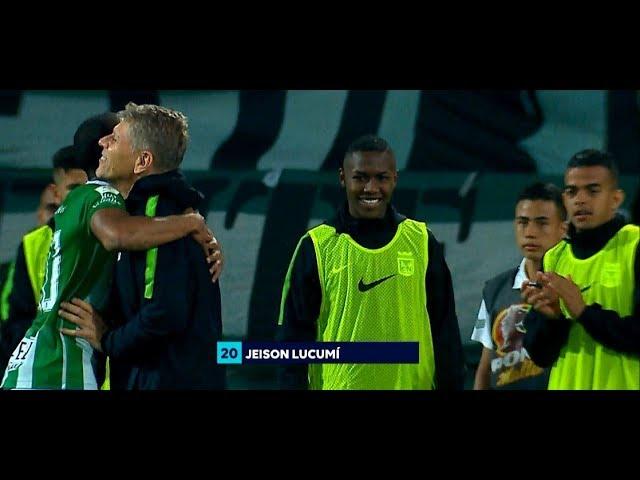 Nacional vs. Patriotas (4-0) | Liga Aguila 2019-1 | Fecha 16