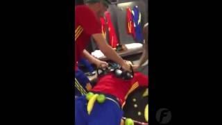 Mannequin Challenge Selección Española de Fútbol, Wembley