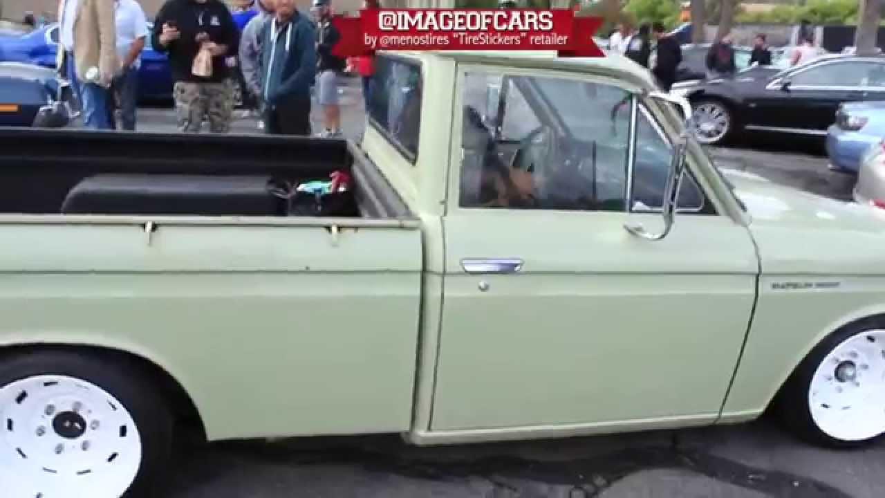 1969 Datsun 521 Truck Slammed
