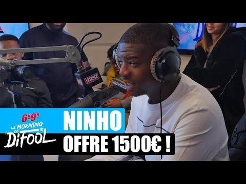 Ninho Offre 1500€ à Une Auditrice ! #MorningDeDifool