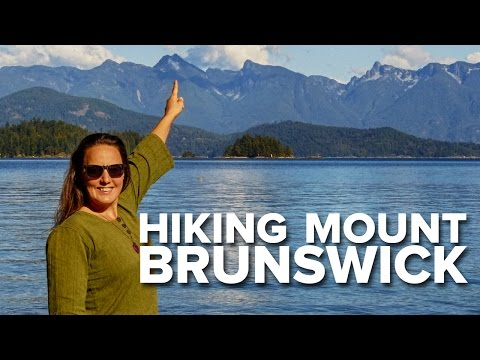 Hiking Mount Brunswick - British Columbia, Canada