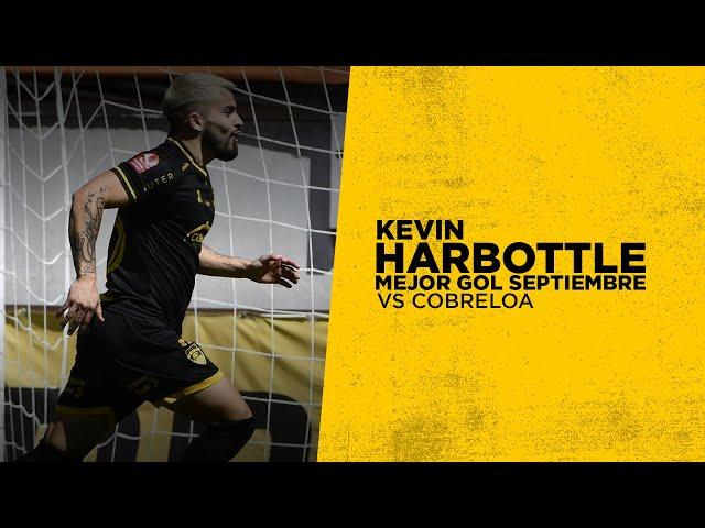 Kevin Harbottle vs Cobreloa: Mejor gol de Septiembre