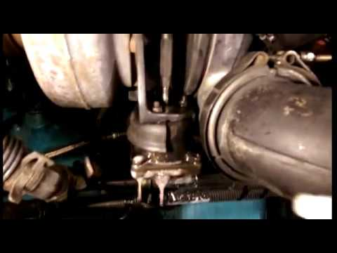 Detroit S60 check for leaks turbo actuator