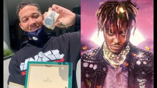 Interscope Records Gifts Lil Bibby A Platinum Rolex For Executive Producing Juice WRLD Legends Never