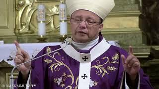 Abp Grzegorz Ryś w kościele Podwyższenia Krzyża