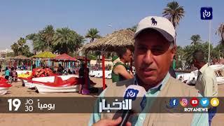 سلطة منطقة العقبة الاقتصادية الخاصة تجري أعمال صيانة في منطقة شاطئ الغندور - (21-11-2017)