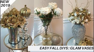 Fall DIYs || 💕Decorative Glass Vases || Goodwill UpCycles💕