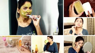 My Morning Skincare Routine 2018 - For Clear Spotless Glowing Skin   Rabia Skincare