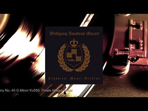 Symphony No. 40 G Minor Kv550  Finale Allegro Assai - Wolfgang Amadeus Mozart mp3
