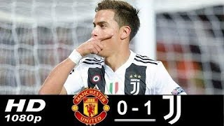 Manchester United vs Juventus 0-1 • All Goals &  Highlights • First Half 2018