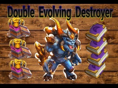 Castle Clash Double Evolving Destroyer