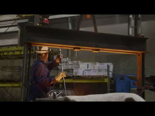 The Official Lodge Cast Iron Foundry Tour - Extended Version