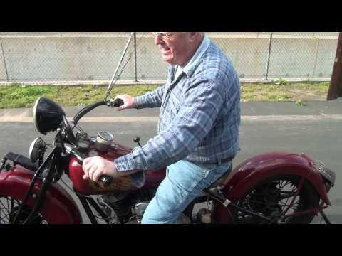 1935 Indian Chief Motorcycle for Sale by Mark's Indian Parts Factory part1