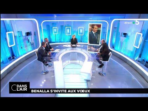 Benalla s'invite aux vœux #cdanslair 31.12.2018