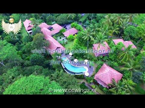 Beingsattvaa vegetarian Resort Ubud Bali visited by C&C WINGS