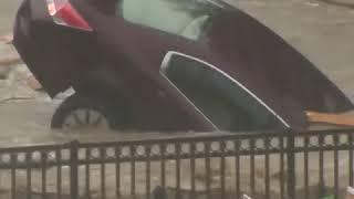Ellicott City flooding washes away cars