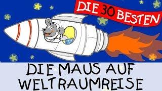 Die Maus auf Weltraumreise - Bewegungslieder zum Mitsingen || Kinderlieder