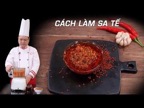 Cách làm Sa Tế ớt đúng cách, để được lâu - Thầy Y - Trường dạy học nấu ăn Netspace