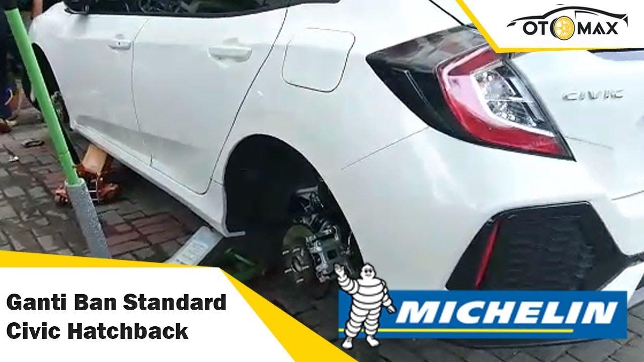 Ban Michelin 215 50 17 On Honda Civic Hatchback