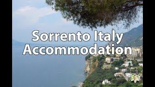 Sorrento Italy Accommodation 2018