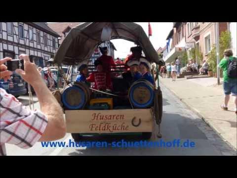Husaren Schüttenhoff 2014  Zeitrafferaufnahmen