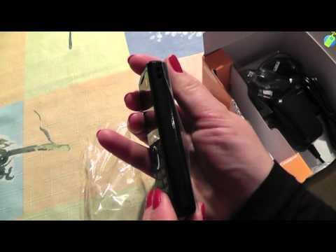 unboxing pl SAMSUNG E2121 Black rozpakowanie po polsku