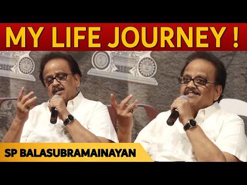 My  life journey with MGR, RAJINI, Kamal Hassan - S. P. Balasubrahmanyam speech