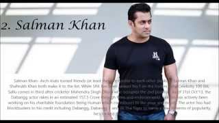 Top 10 Richest Bollywood celebrity 2014