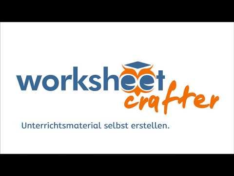 Worksheet Crafter Einführung (Kurzfassung)