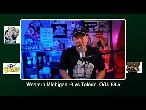 Western Michigan vs Toledo 11/11/20 Free College Football Picks and Predictions CFB Tips Wednesday