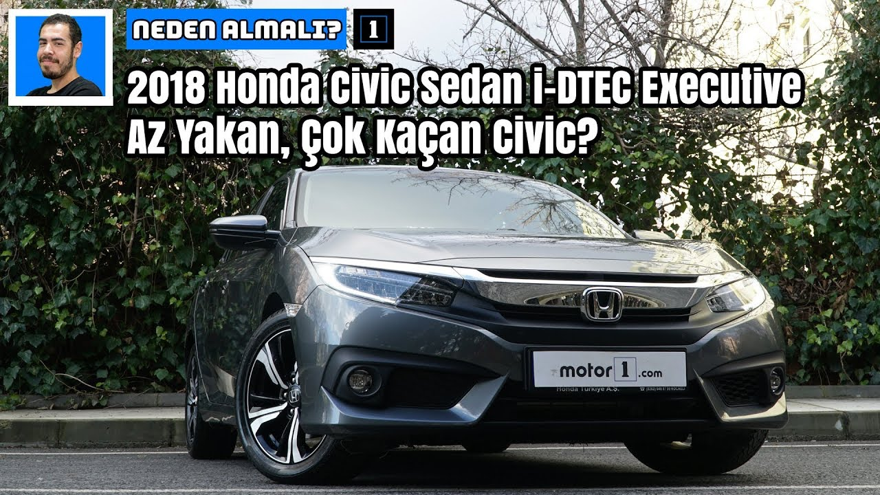 2018 Honda Civic Sedan Executive Dizel Otomatik Az Yakan çok