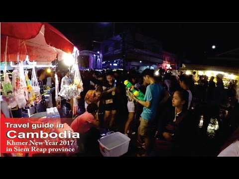 Khmer New Year 2017 in Siem Reap province, Cambodia - How to travel - Cambodia.