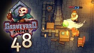 Graveyard Keeper [#48] - Müssen wir doch in die Unterwelt - Let's Play