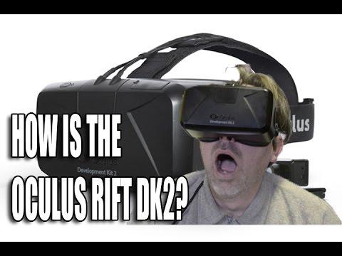how is the oculus rift dk2?