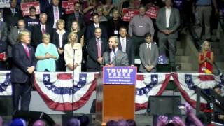 'Mr. Brexit' Nigel Farage Speaks at Donald Trump Rally in Jackson, MS thumbnail