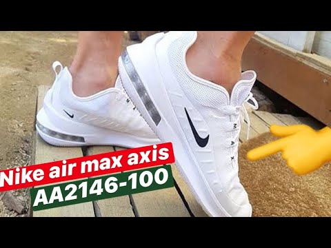nike air max axis mujer blancas