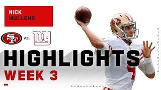 Nick Mullens Steps In & Shows Off | NFL 2020 Highlights