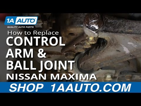 How to Replace Control Arm with Ball Joint 99-03 Nissan