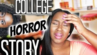 COLLEGE ROOMMATE HORROR STORY | STORYTIME  Trinity Jae