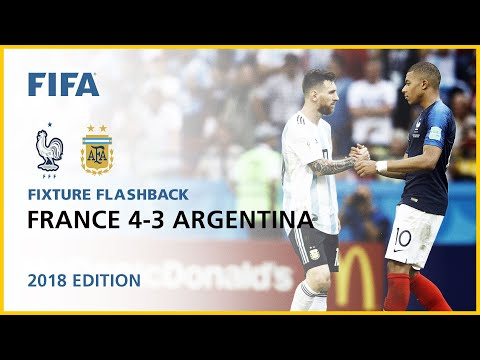 France 4-3 Argentina | Russia 2018 | FIFA World Cup